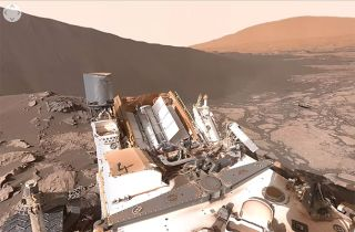 360-Degree Curiosity Rover Video