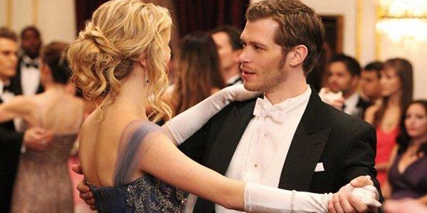 Caroline and Klaus on The Vampire Diaries