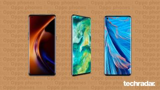 A selection of the best Oppo phones including Oppo Find X3 Pro, Oppo Find X2 Pro and Oppo Find X2