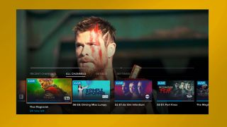 Sling TV new app - channel surfing while watching a movie