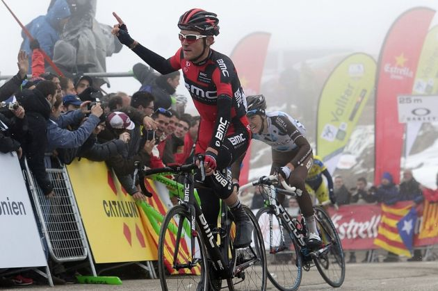 Tejay Van Garderen wins stage four of the 2014 Tour of Catalonia