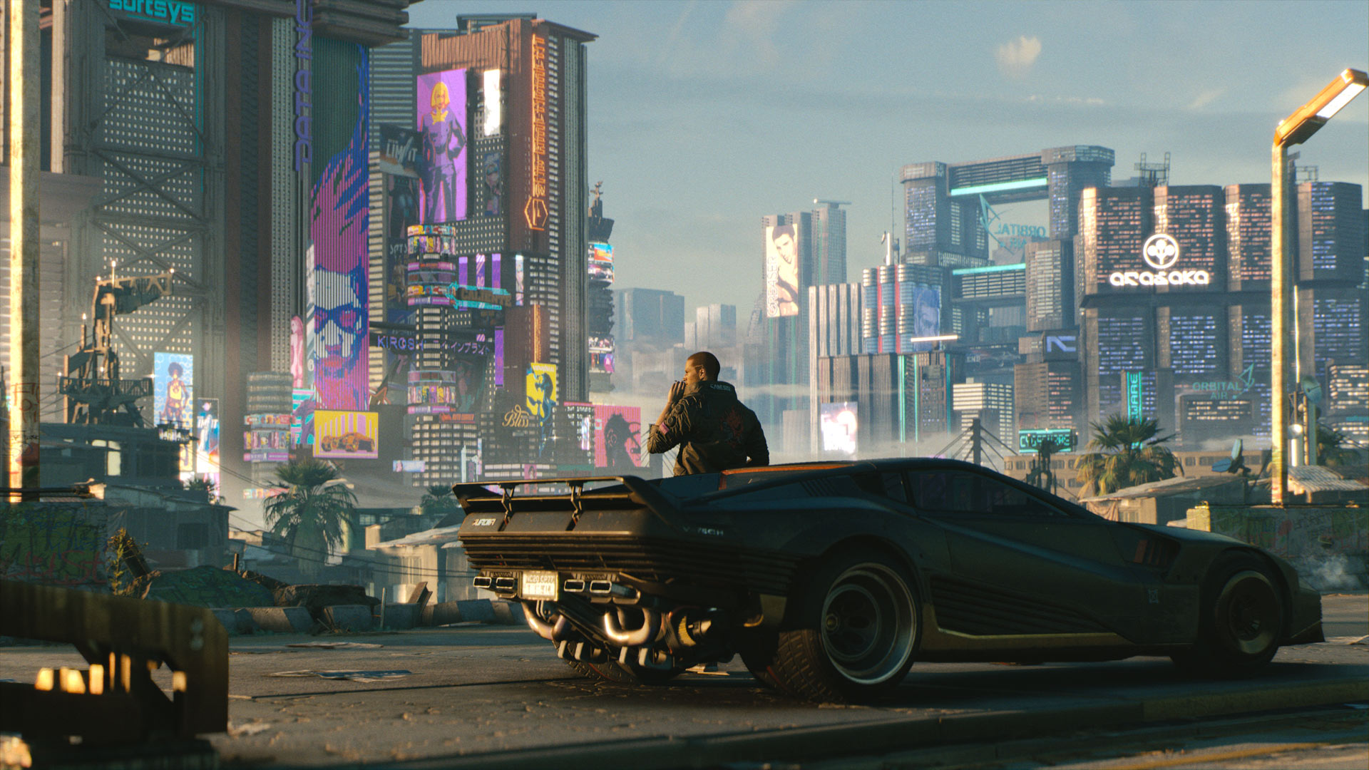 Story comes first in the making of Cyberpunk 2077