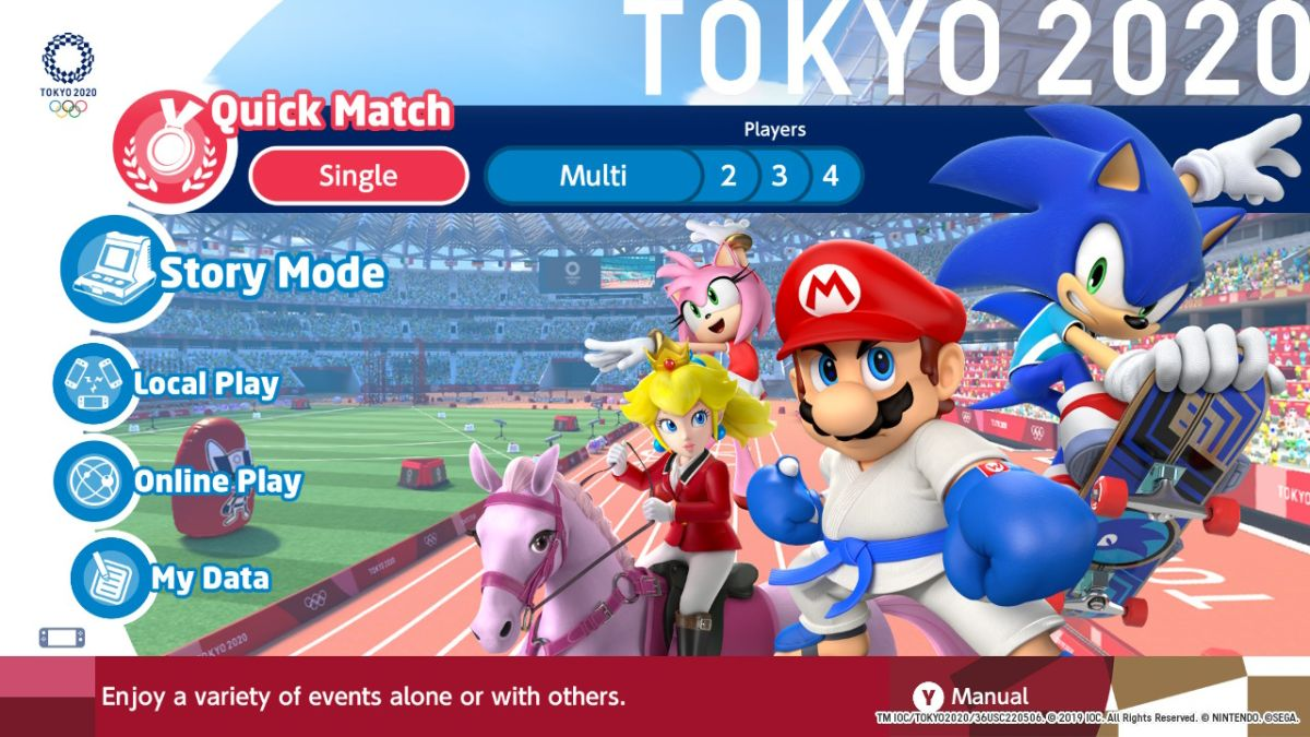 Overwatch Summer Events 2020.Mario And Sonic At The Olympic Games Tokyo 2020 Is A Simple