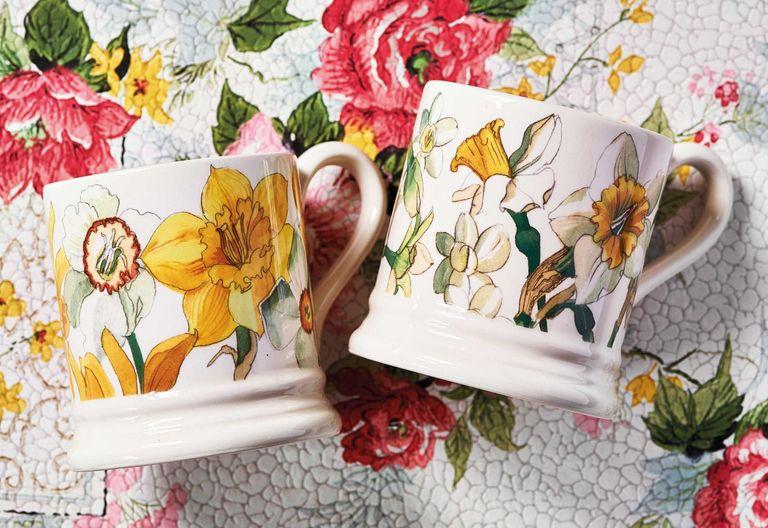 Emma Bridgewater Daffodil mugs