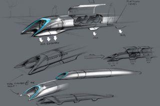 Hyperloop Sketches