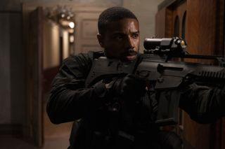 "Michael B. Jordan as John Kelly/Clark in ""Tom Clancy's Without Remorse."""