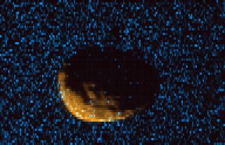 Ultraviolet Image of Mars' Moon Phobos