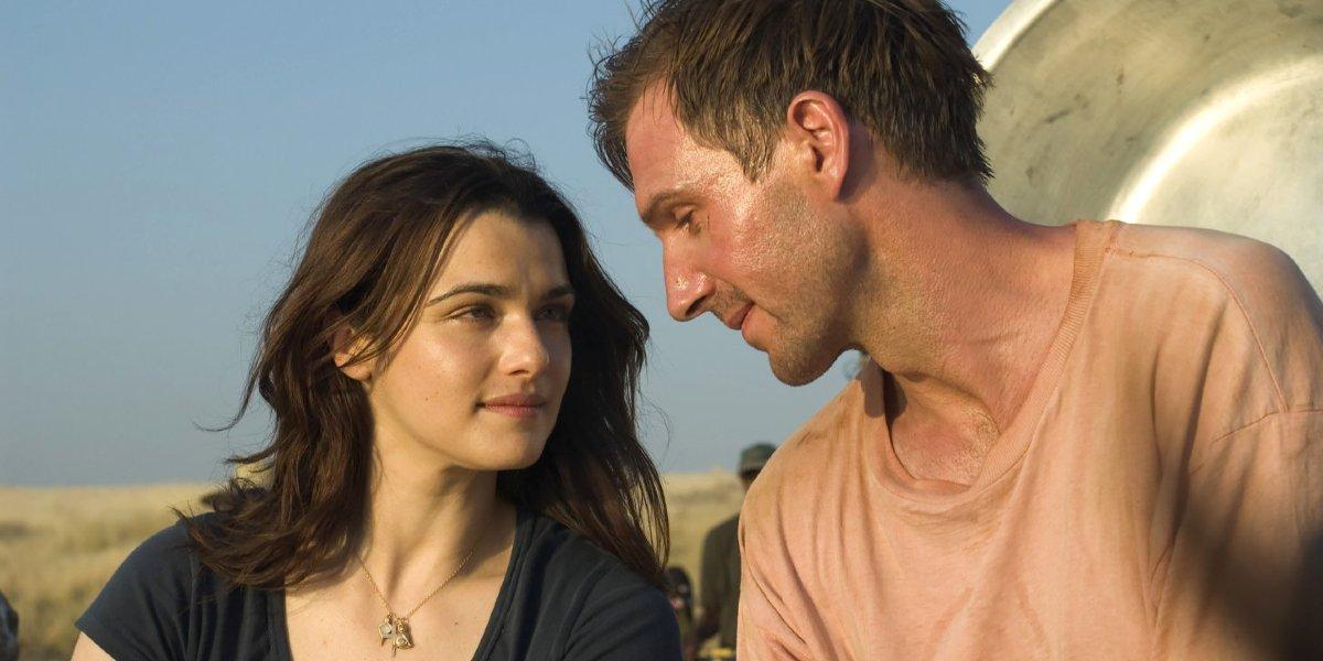 Rachel Weisz and Ralph Fiennes in The Constant Gardener
