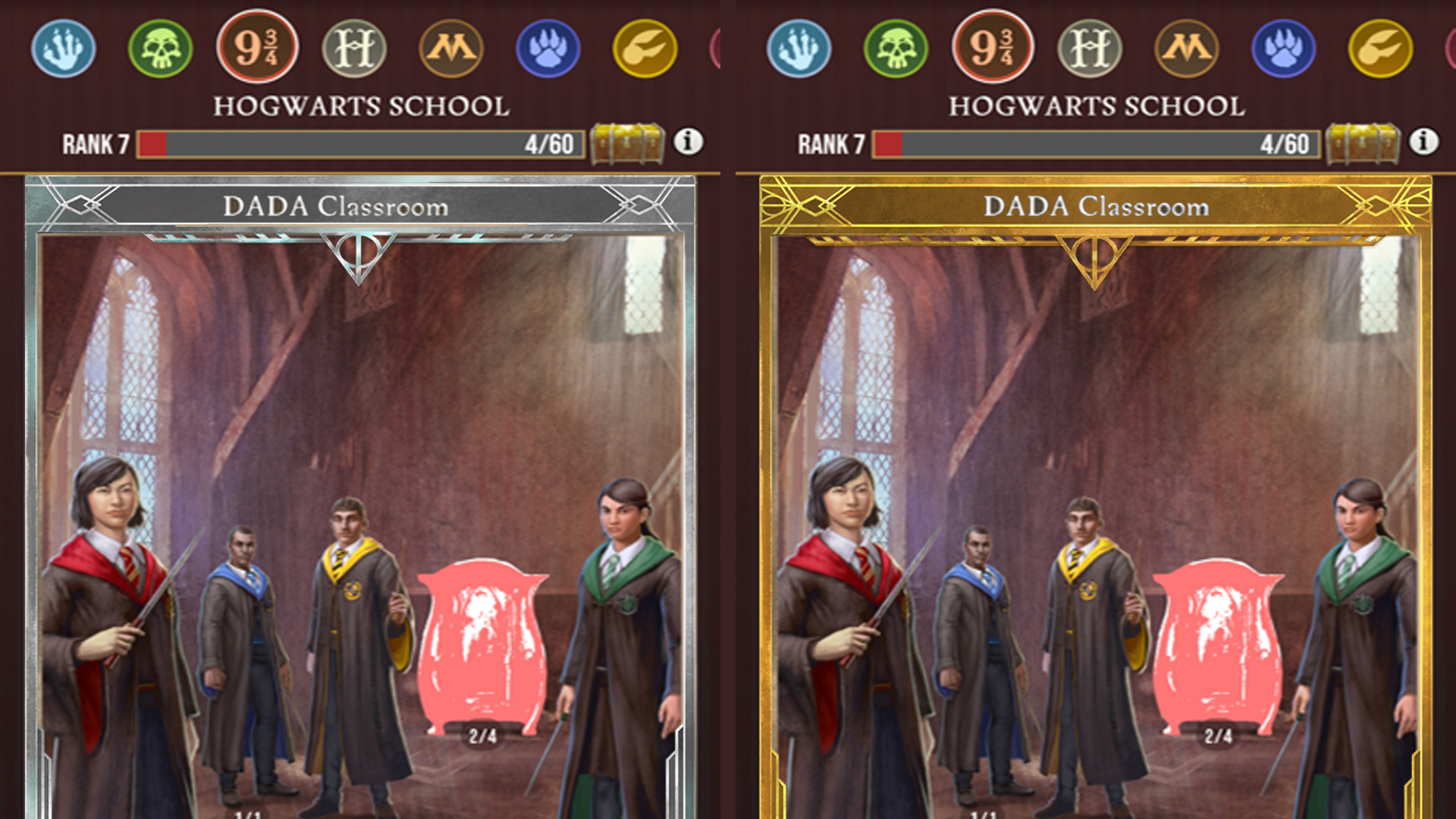 How does the Harry Potter Wizards Unite Prestige system work
