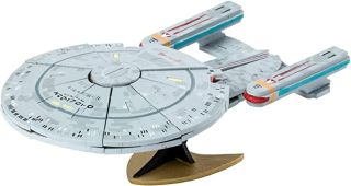 This Star Trek wooden 3D puzzle is on sale for Prime Day.