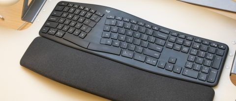 The Logitech Ergo K860 keyboard