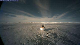 North pole lake vanishes