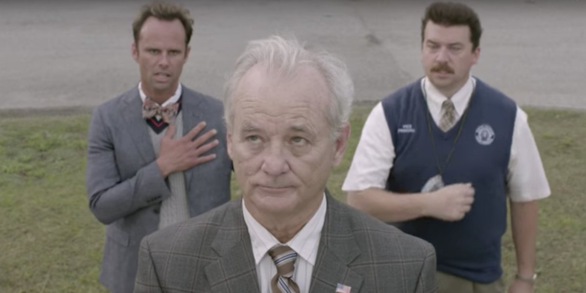 Walton Goggins, Bill Murray, and Danny McBride on Vice Principals