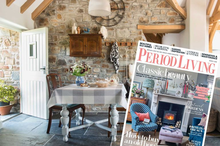 Period Living is now Britain's fastest growing homes magazine