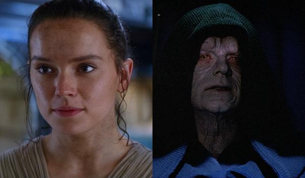 Star Wars Rey Palpatine