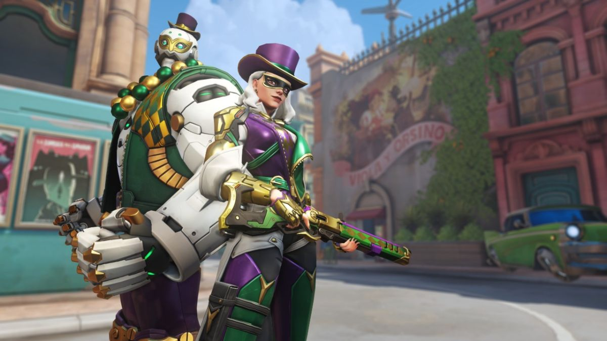 Overwatch celebrates Mardi Gras with a limited-time event