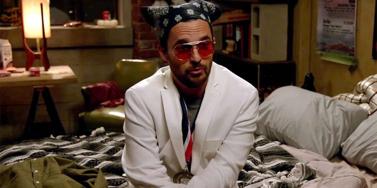 Jake Johnson as Nick in New Girl