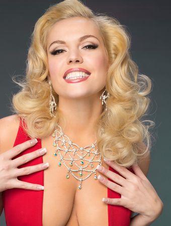 Anna Nicole Smith red