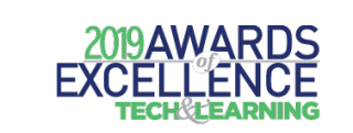Tech & Learning's 2019 Awards of Excellence Logo
