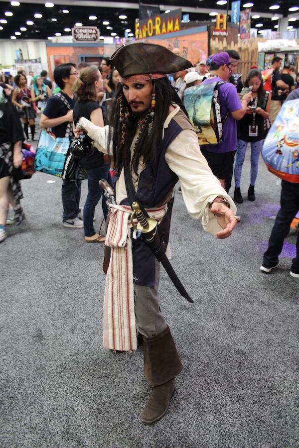 SDCC Costume Jack Sparrow