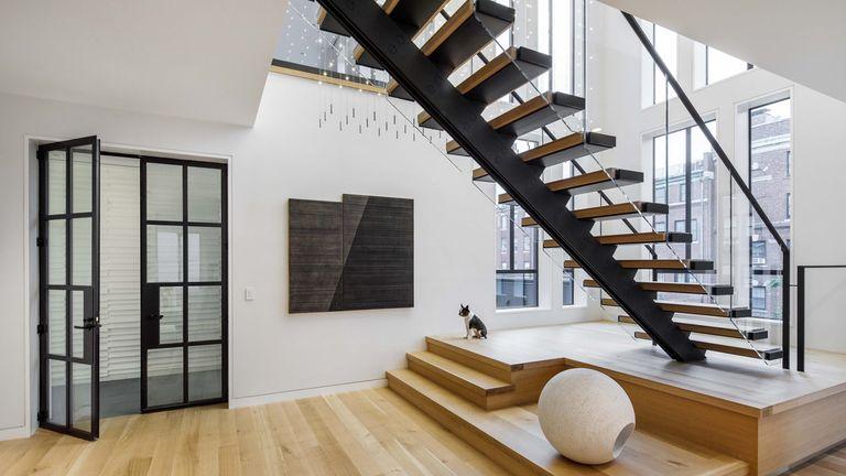 monochrome penthouse