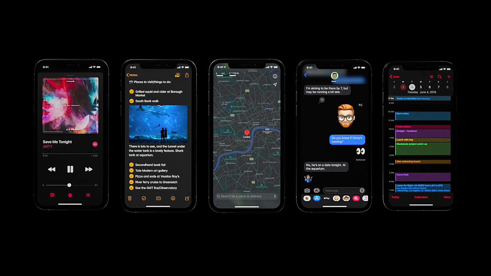 Apple iOS 13: twice as fast, dark mode, and improved Memoji