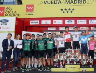 Cycling: Tour of Madrid 2019 / Vuelta Madrid 2019 / Stage 3 / Etapa 3 Podium / Podium / Madriid-Madrid (99,9 Km) 12-05-2019 / Vuelta Madrid 2019 / Luis Angel Gomez ©PHOTOGOMEZSPORT2019