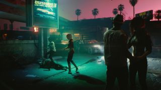 Cyberpunk 2077 studio reveals more about Night City and its relaxed approach to gun control