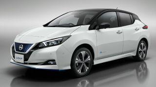 nissan leaf plus electric car