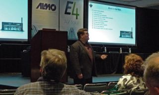Almo E4 at the ISA Expo Orlando