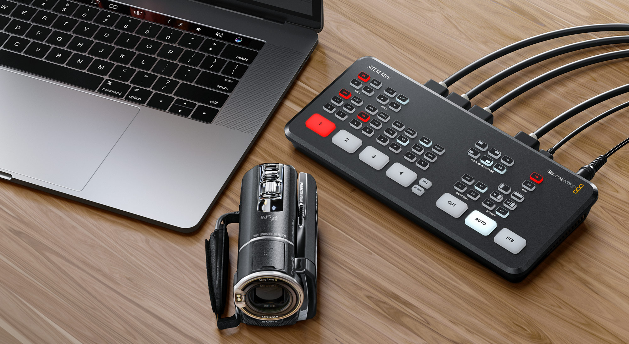 Blackmagic Design Announces New Atem Mini Broadcasting Cable
