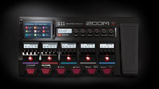 Zoom G11 multi-effects pedal and amp modeler