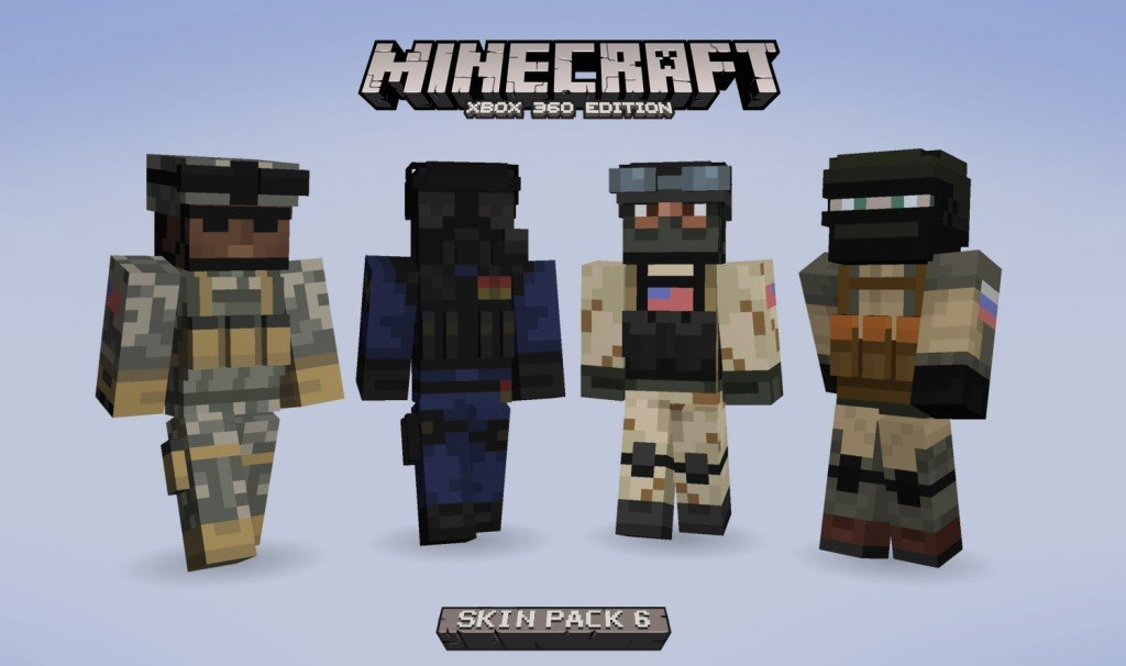 Minecraft Skin Pack 6 Released On Xbox 360 Cinemablend