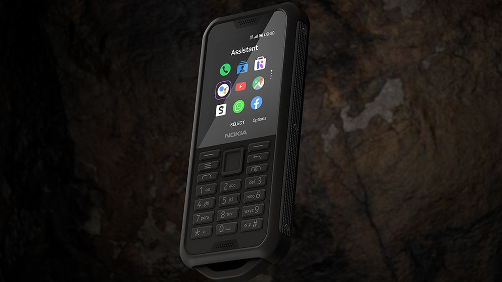 Nokia's 800 Tough feature phone will take a mauling and keep on calling