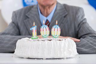 100 year birthday cake candles