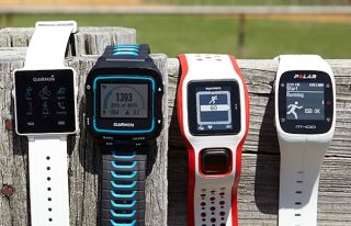 Garmin Forerunner 920XT, TomTom Runner Cardio and Polar M400.