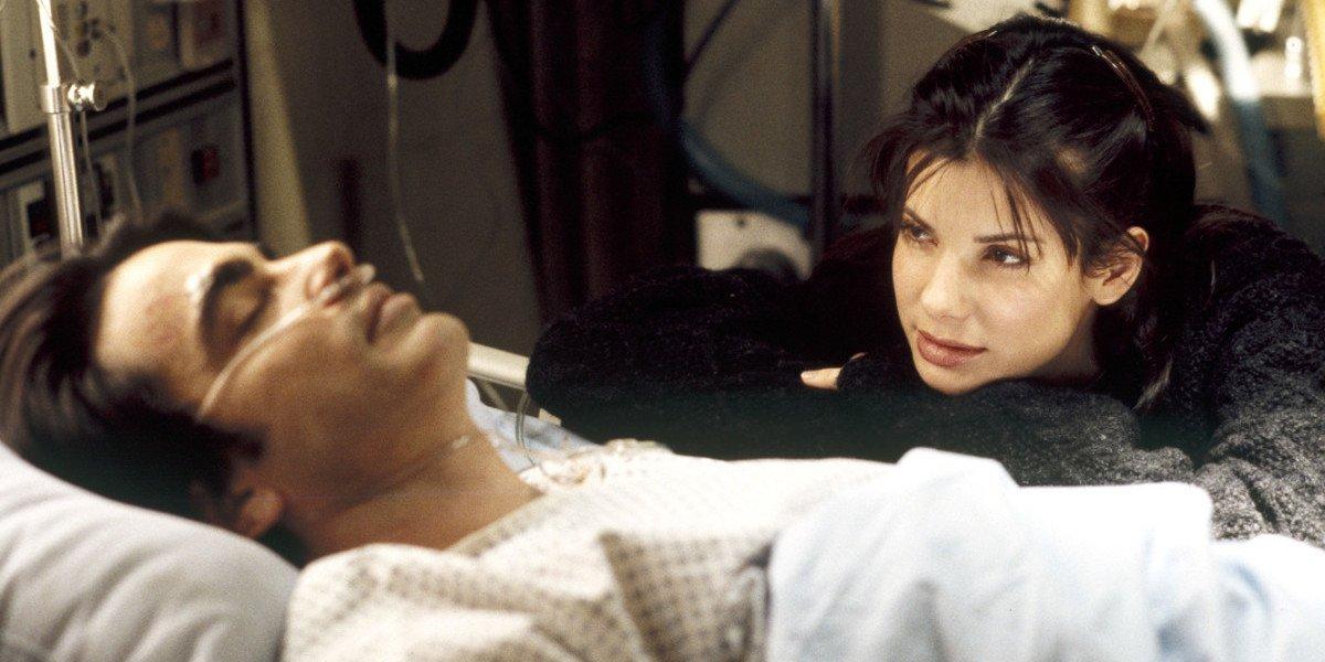 Sandra Bullock in While You Were Sleeping