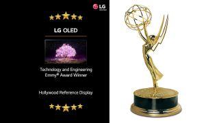 LG OLED wins Emmy Award