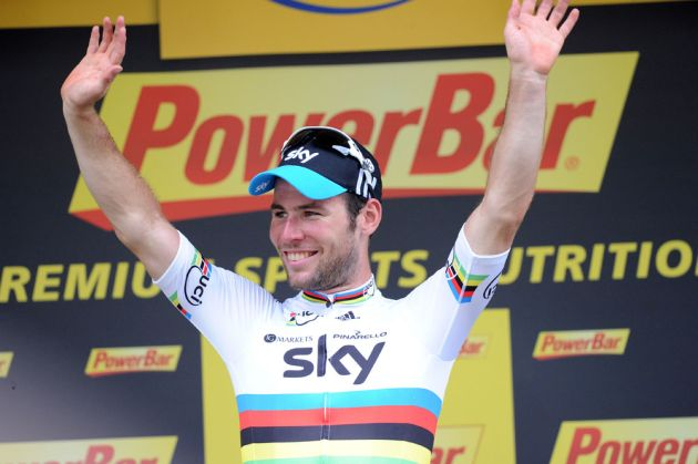 Mark Cavendish, Tour de France 2012, stage two
