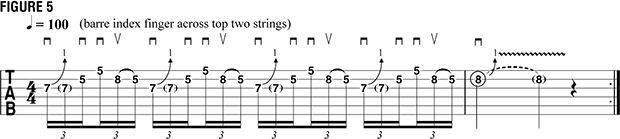 How to Play Five Classic Repetition Licks That Incorporate