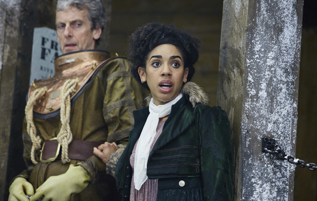The Doctor and Bill are in 1814 where they face a giant serpent lurking below the frozen River Thames, as well as a vile aristocrat…