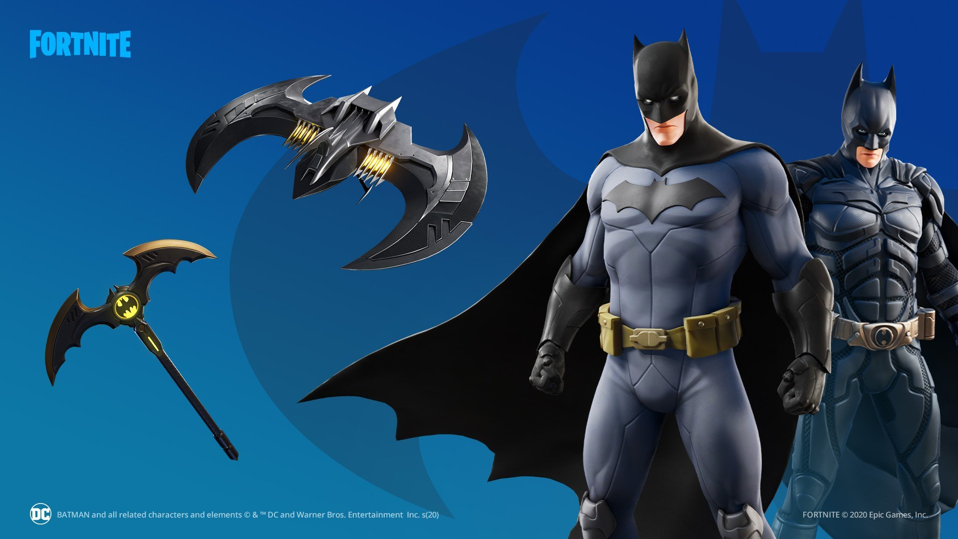 Batman Fortnite skin