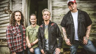 A press shot of Black Stone Cherry in 2016