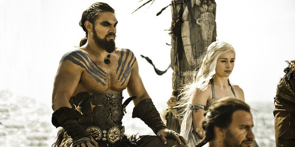 game of thrones season 1 khal drogo jason momoa dany emilia clarke