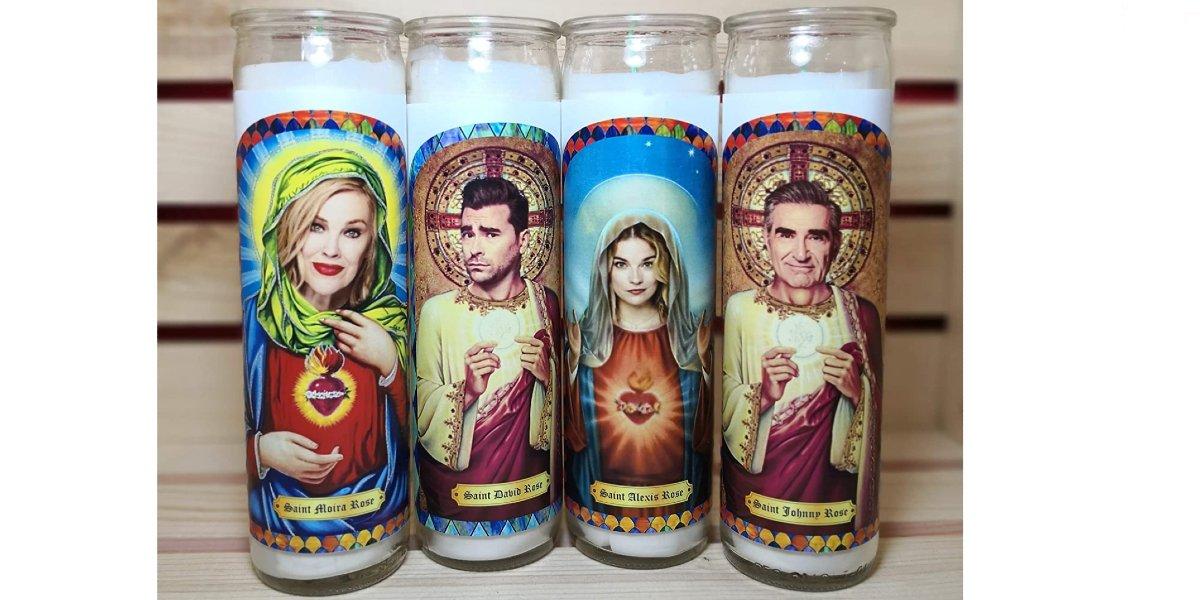 Schitt's Creek Praying Candles Four Pack