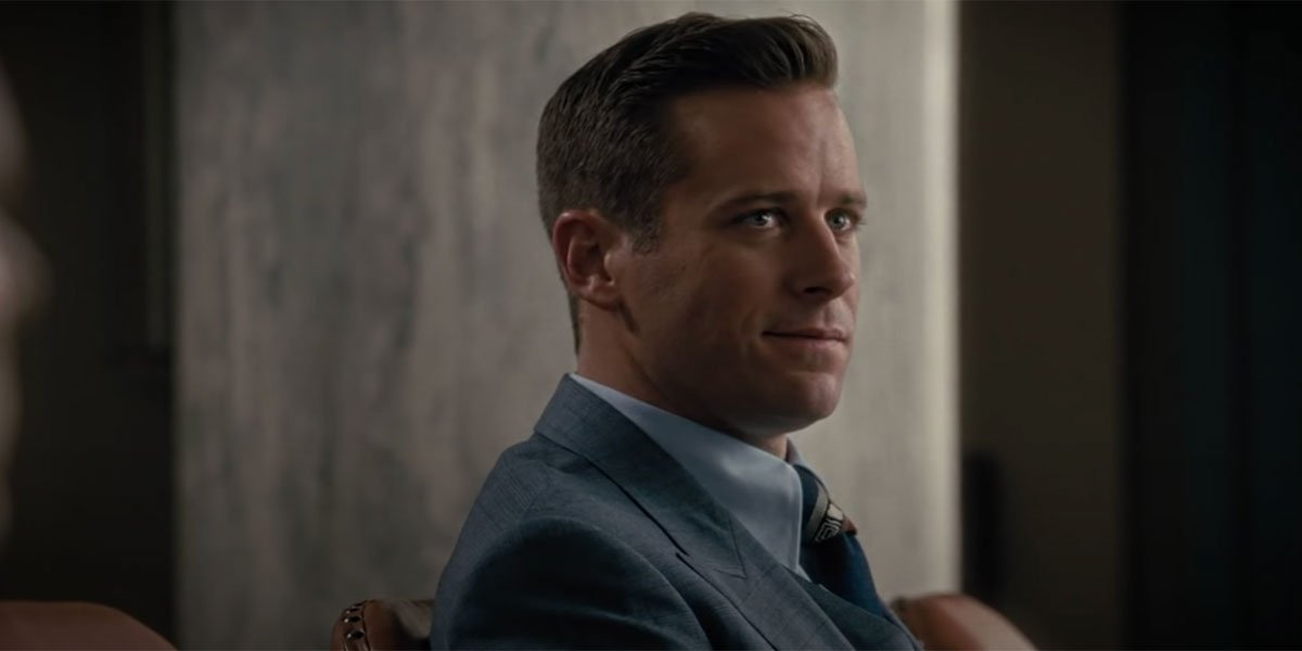 Armie Hammer in On The Basis Of Sex 2019