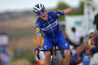 Deceuninck-QuickStep's Rémi Cavagna wins stage 19 of the 2019 Vuelta a España in Toledo