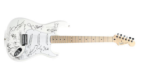 Stolen Fender Stratocaster Signed By Eric Clapton Jimmy Page And Others Recovered After Gary Moore S Son Spots Instrument On Ebay Guitar World