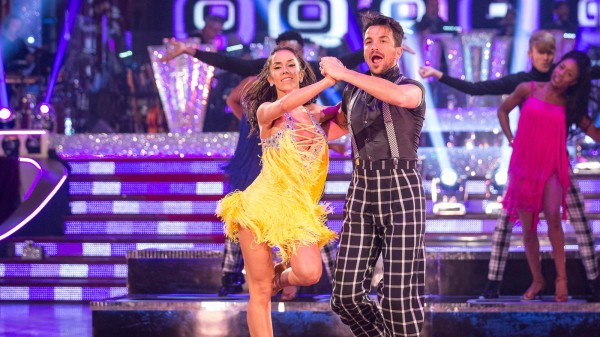 Peter Andre and Janette Manrara on Strictly Come Dancing