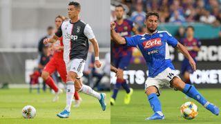 juventus vs napoli live stream serie a football cristiano ronaldo dries mertens